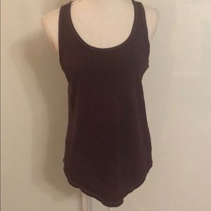 UNIVERSAL THREAD plum racerback tank top